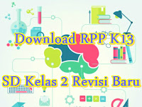 Download RPP K13 SD Kelas 2 Revisi Baru