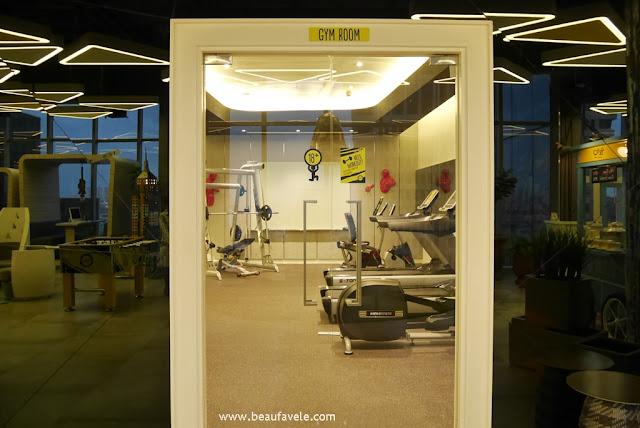 Gym Room di Yello Hotel