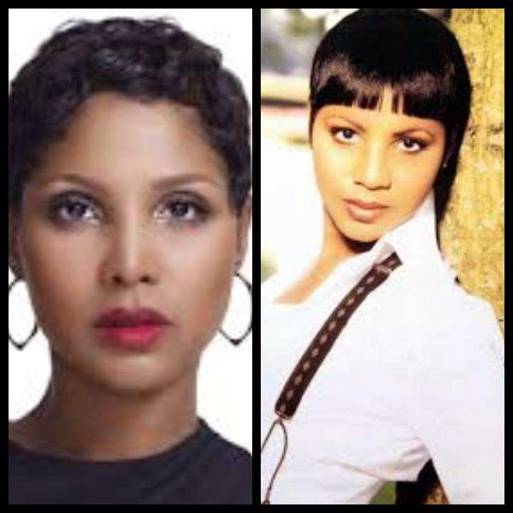 Hairstyles Toni Braxton Short Haircuts Charming Hair Styles