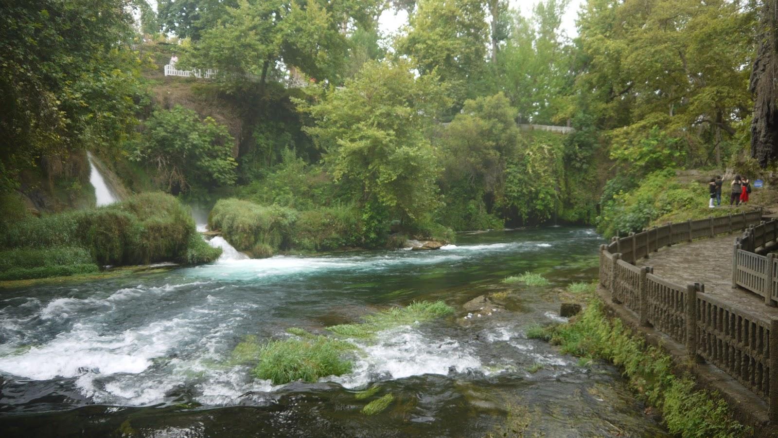 La Mode D'Emm Antalya, Turkey Upper Lower Duden Waterfall