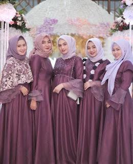Hijab Modern Untuk Pesta