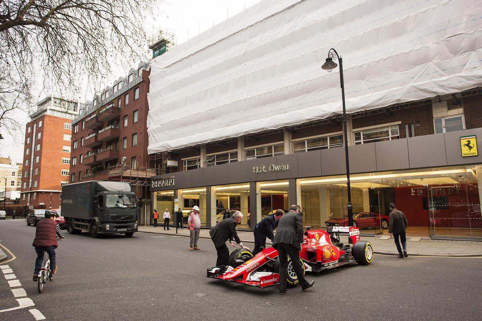 Hennessey Venom F5 >> Ferrari Dealership Named World's Best, Gets 2015 F1 Car | Carscoops
