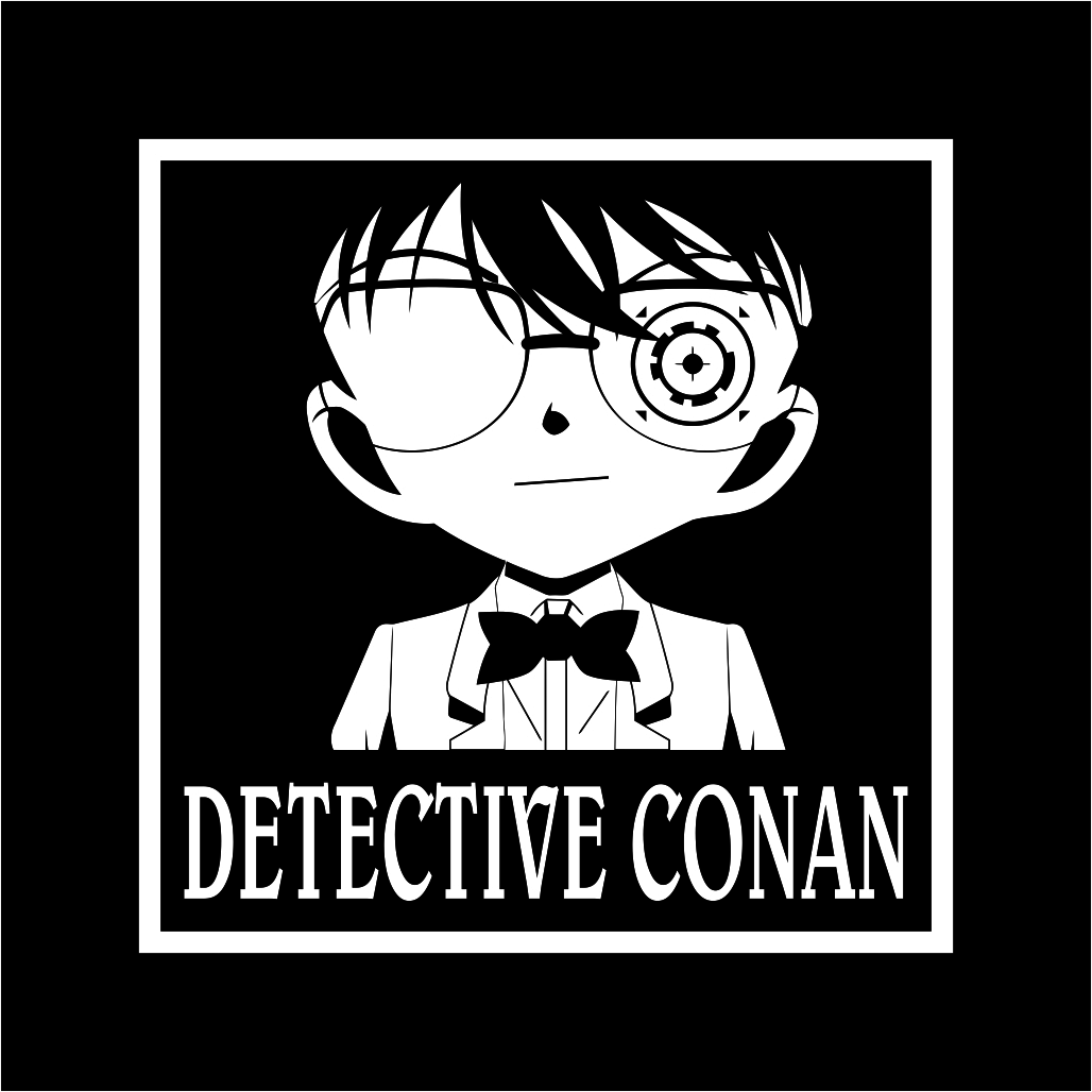 Detective Conan Free Download Vector CDR, AI, EPS and PNG Formats