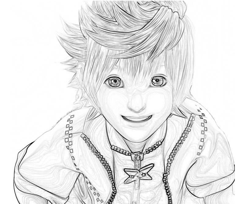 Kingdom Hearts Roxas Characters