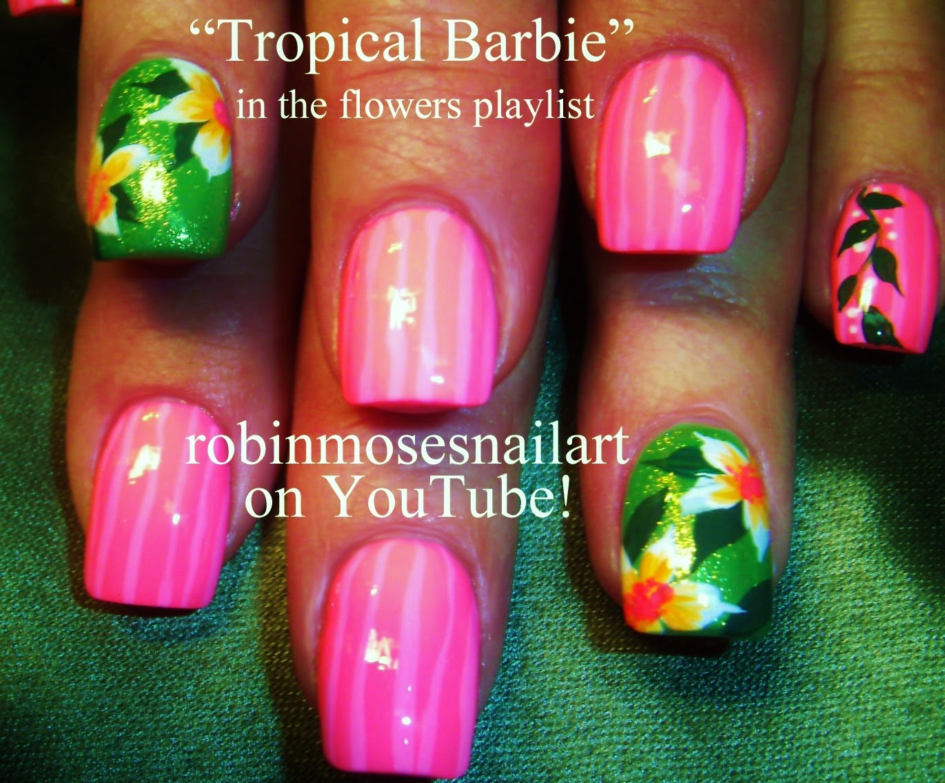 "Robin Moses Nail Art: ""summer nails"" ""nail art ..."
