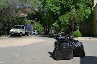 Убрали мусор в Советском переулке города Астрахани