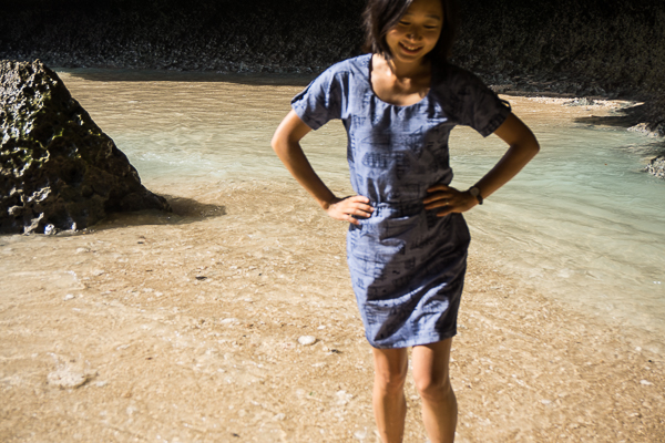 Tilly and the buttons Bettine in chambray