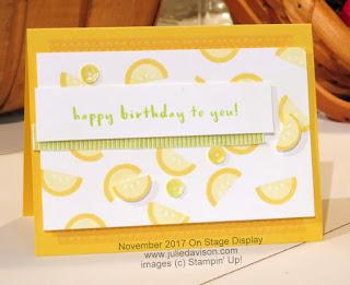 Stampin' Up! 2018 Occasions Catalog Sneak Peek ~ Tutti Frutti Birthday Card