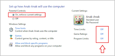 Cara Mengaktifkan Parental Control Di Windows  Cara Mengaktifkan Parental Control Di Windows 7