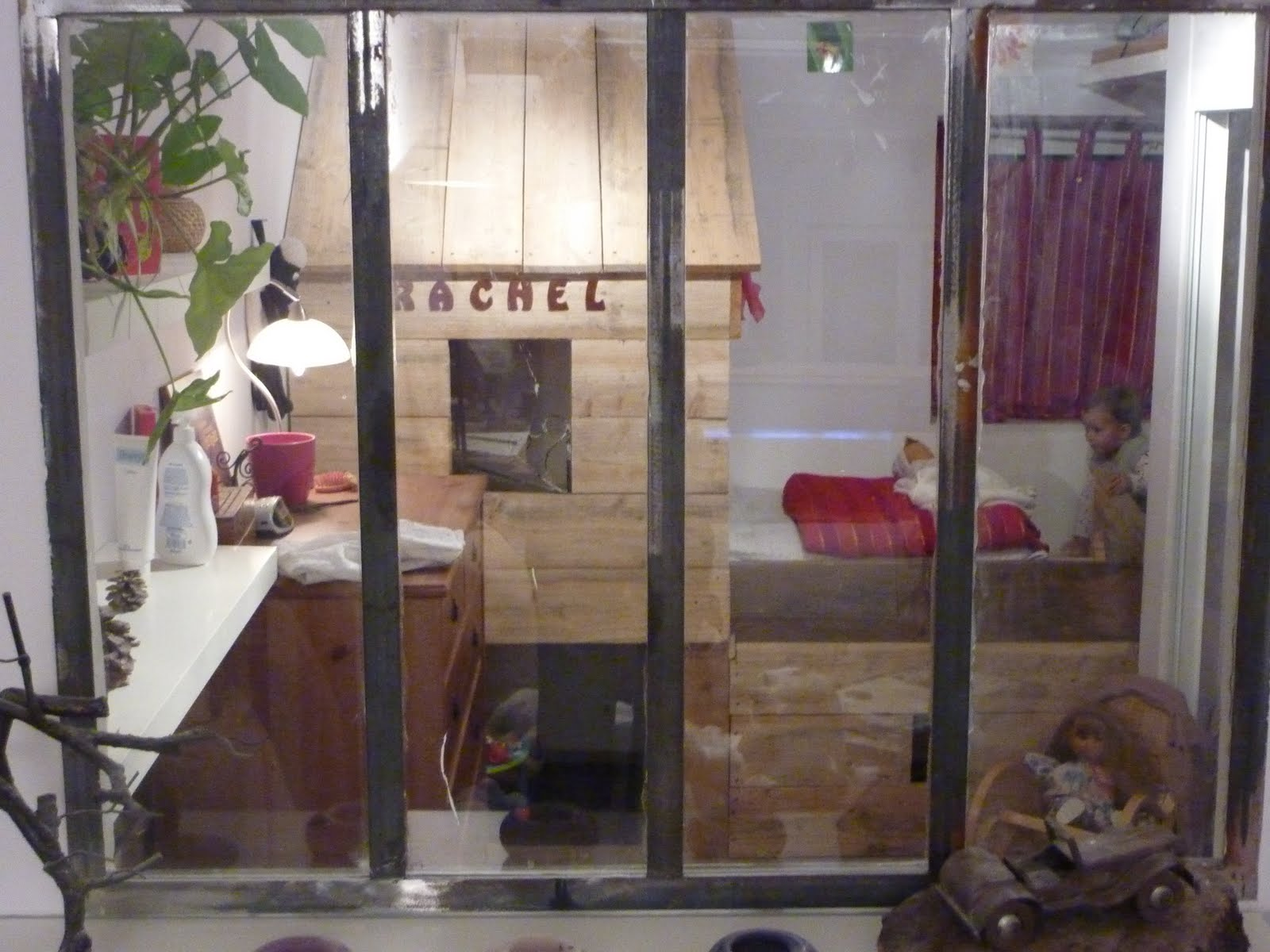 verri re int rieure am nagement d 39 une chambre d 39 enfant. Black Bedroom Furniture Sets. Home Design Ideas