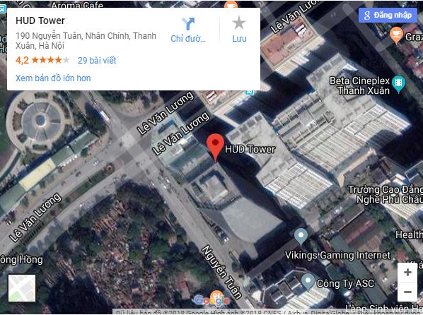 vị trí tòa nhà