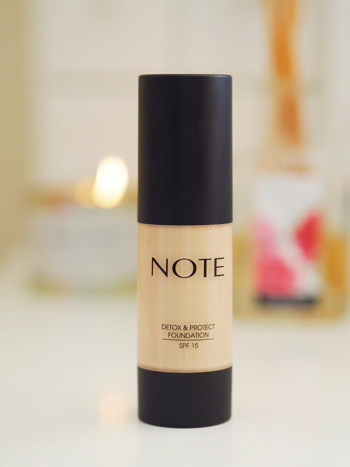 Five Note Cosmetics Foundations Review Comparison