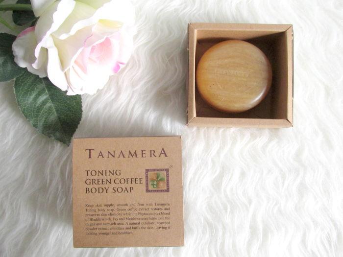 Beautypress News Box Oktober 2016 - Tanamera toning green coffee body soap