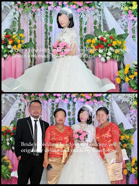 Hiasan kepala, headpiece pengantin, wedding, bride, bridal, jual headpiece, model headpiece terbaru, veil pengantin, veil jaring, jual veil polos, terima jahit, terima payet.