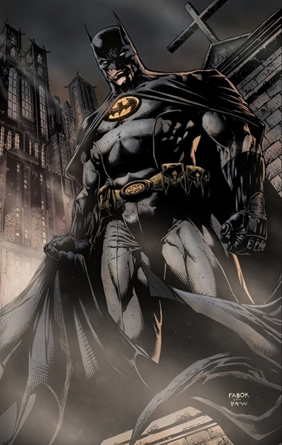 Batman Incorporated dibujado por David Finch