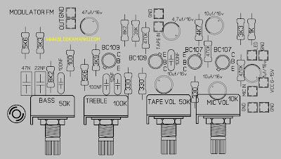Rangkaian Modulator Fm untuk pemancar mini