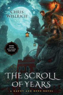 Guest Blog by Chris Willrich, author of The Scroll of Years -  August 21, 2013