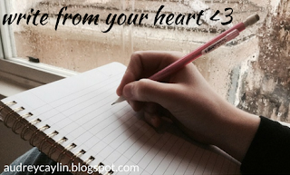 http://audreycaylin.blogspot.com/2017/03/write-from-your-heart.html
