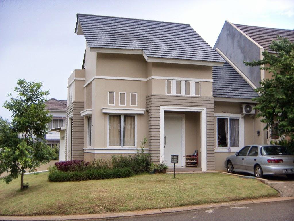 Kombinasi Warna Cat Rumah Coklat | Kumpulan Desain Rumah