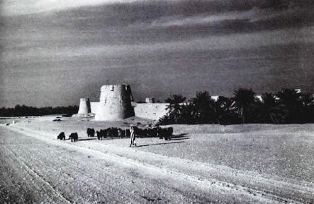 اسوار مدينة الهفوف 1950م