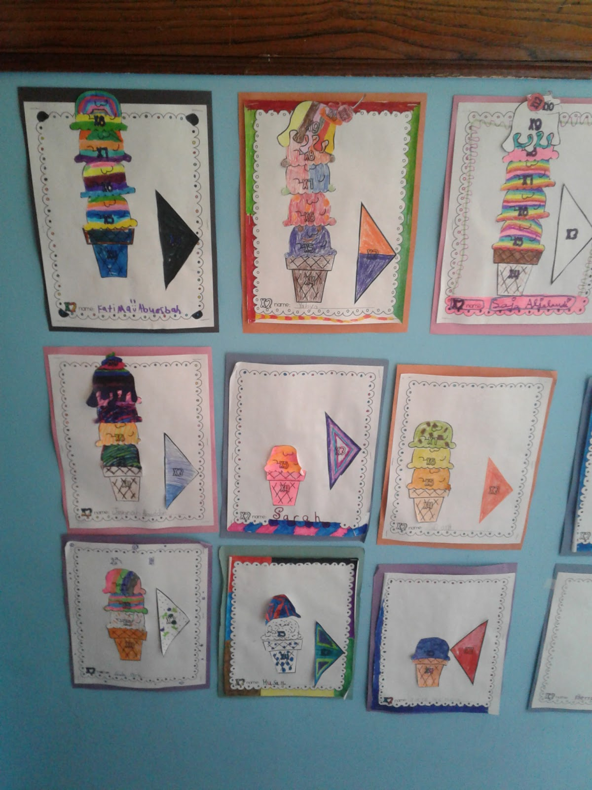3rd Grade At Miraj Multiplication Ice Cream Party