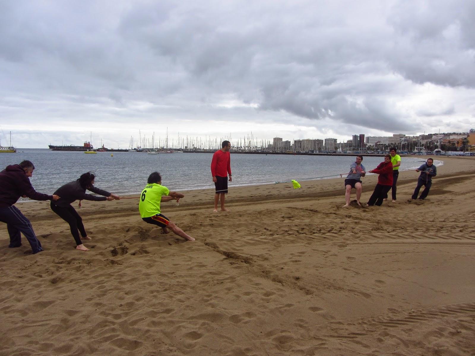 Ii Jornadas De Juegos Ludicos Recreativos En La Playa De Las