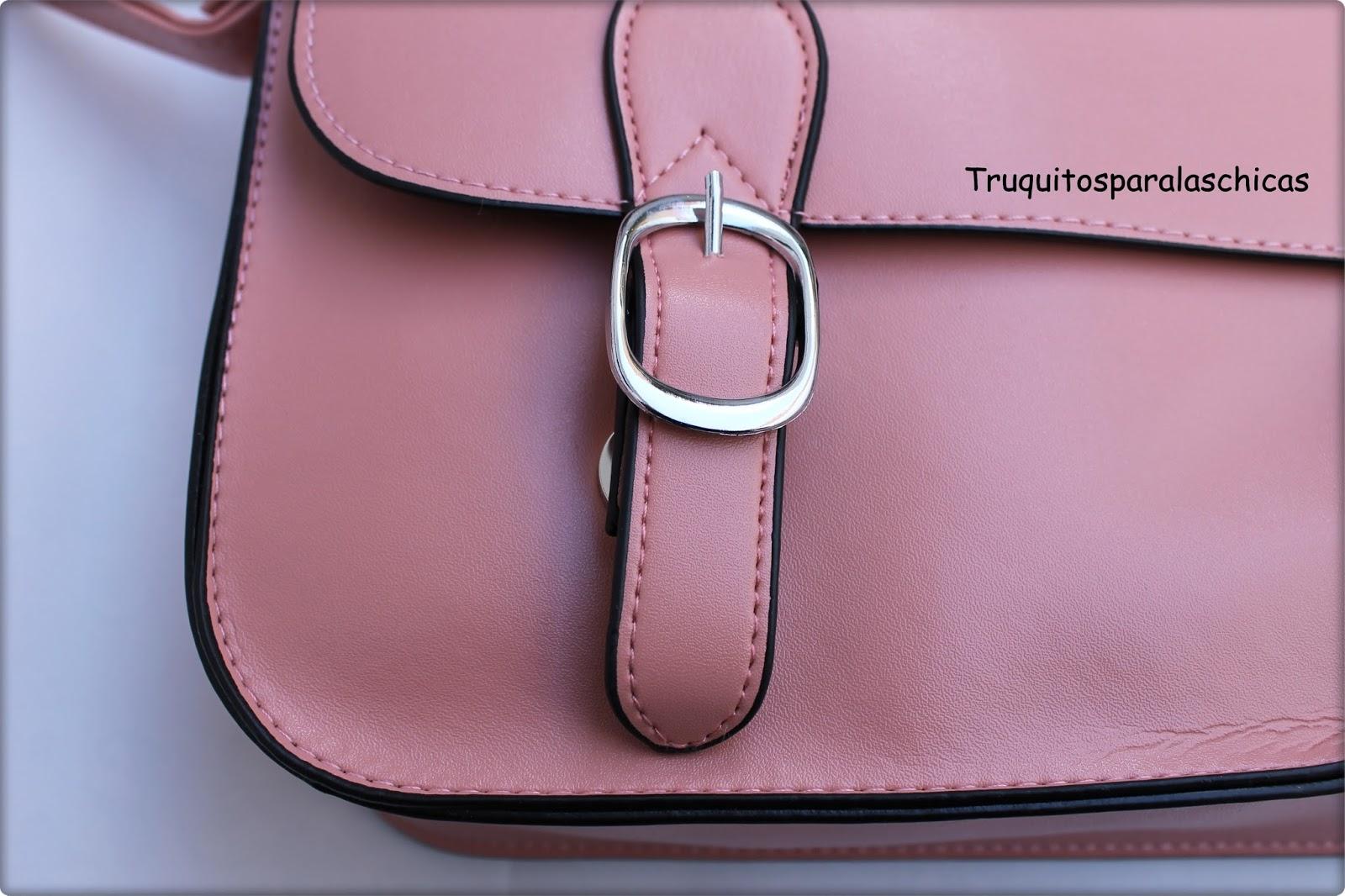 bolso rosa rosegal