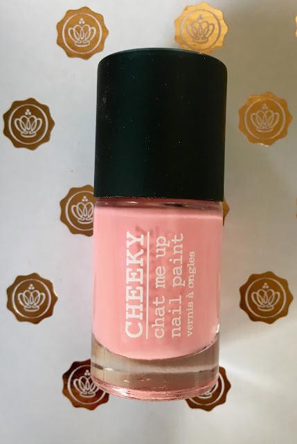 Cheeky Nail Paint - Glossybox 2015