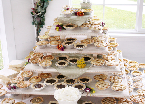 dessert ideas instead of wedding cake tickled pink events let them eat cake or not wedding 13495