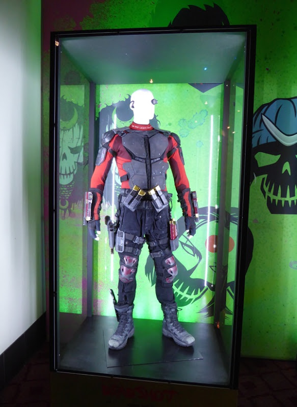 Will Smith Suicide Squad Deadshot movie costume