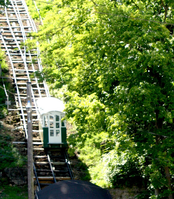 The Dubuque Incline was constructed in 1882 so Mr. Graves could take a longer lunch hour to include his meal and a nap.