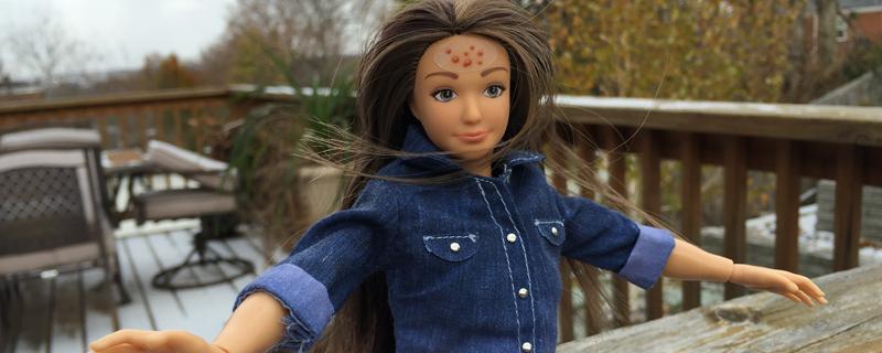 Muñecas con medidas reales, el ejemplo para niños y niñas