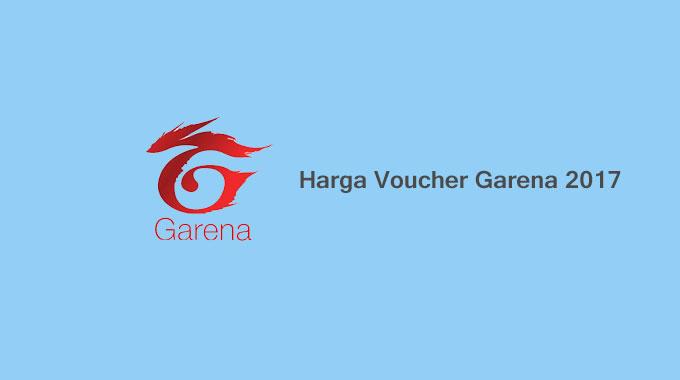 Daftar Lengkap Harga Voucher Garena Indonesia 2017