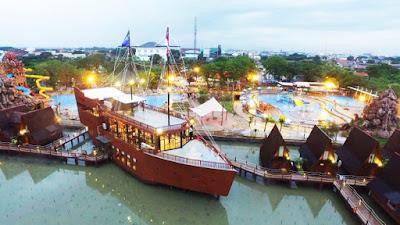 Kapal Cirebon Waterland Ade Irma Suryani