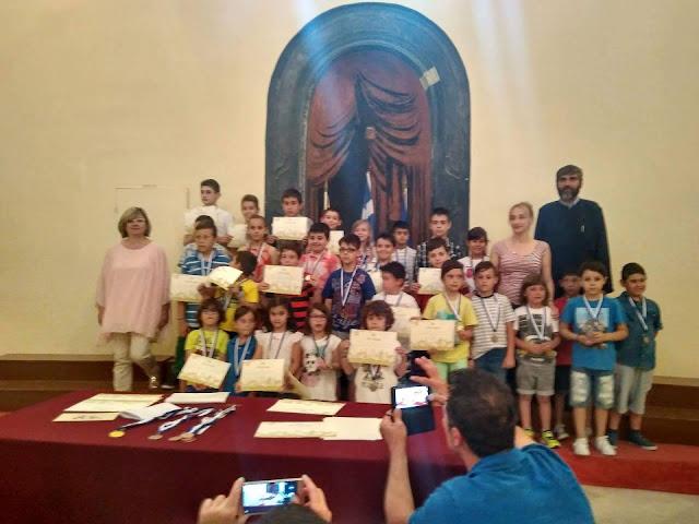Μετάλλια και βραβεία στους σπουδαστές του Σκακιστικού Συλλόγου Ναυπλίου