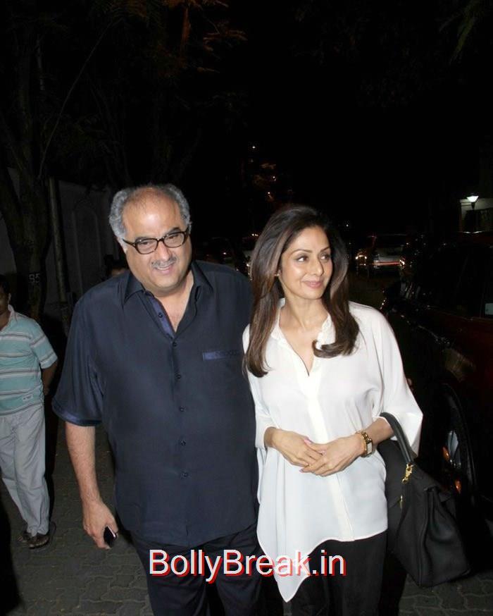 Boney Kapoor, Sridevi, Hot HD Pics of Shilpa Shetty Shamita Shetty From 'Dil Dhadakne Do' Trailer Launch at Anil Kapoor Residence