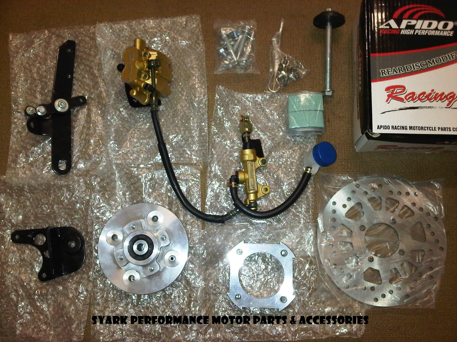 Syark Performance Motor Parts And Accessories Online Shop (Est. Since 2010): New APIDO Rear Disc ...