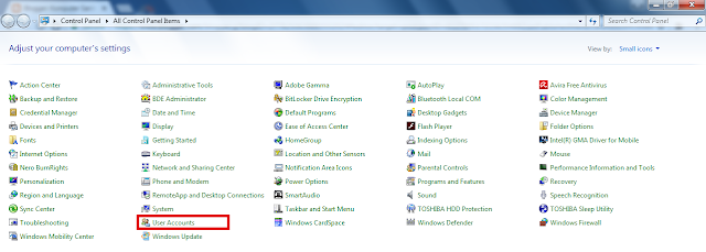 Cara Menghapus Password pada Komputer Windows 7