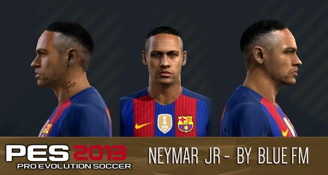 Neymar Jr. Face PES 2013