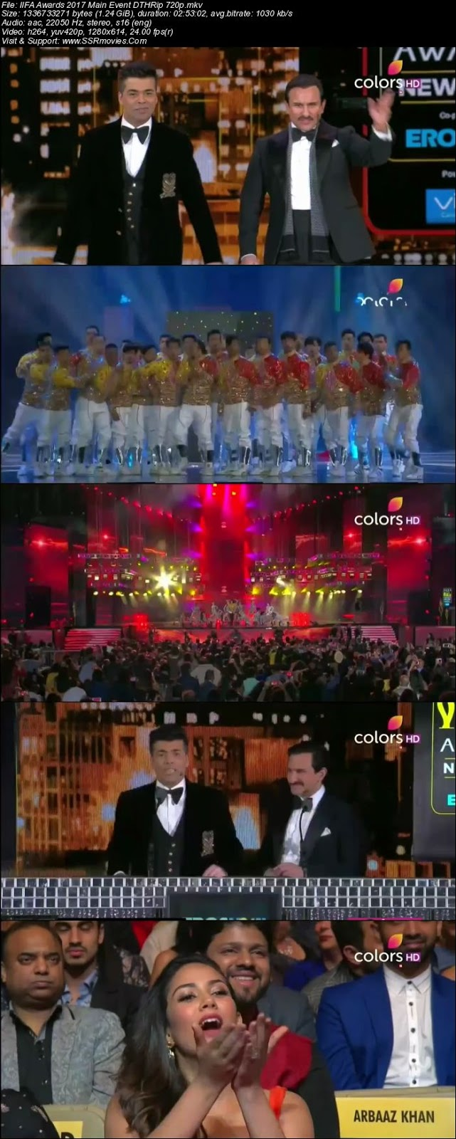 Iifa awards 2017 main event full show download 720p ssr - Academy awards 2017 download ...