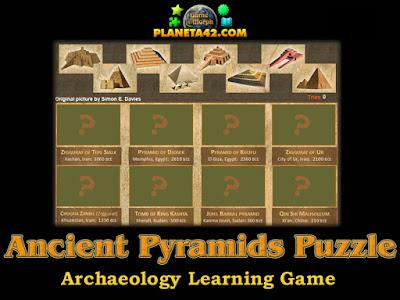 Ancient Pyramids Puzzle