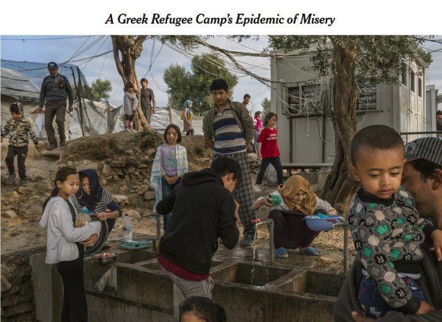 Άρθρο των New York Times διαπομπεύει την Ελλάδα για τα HotSpot