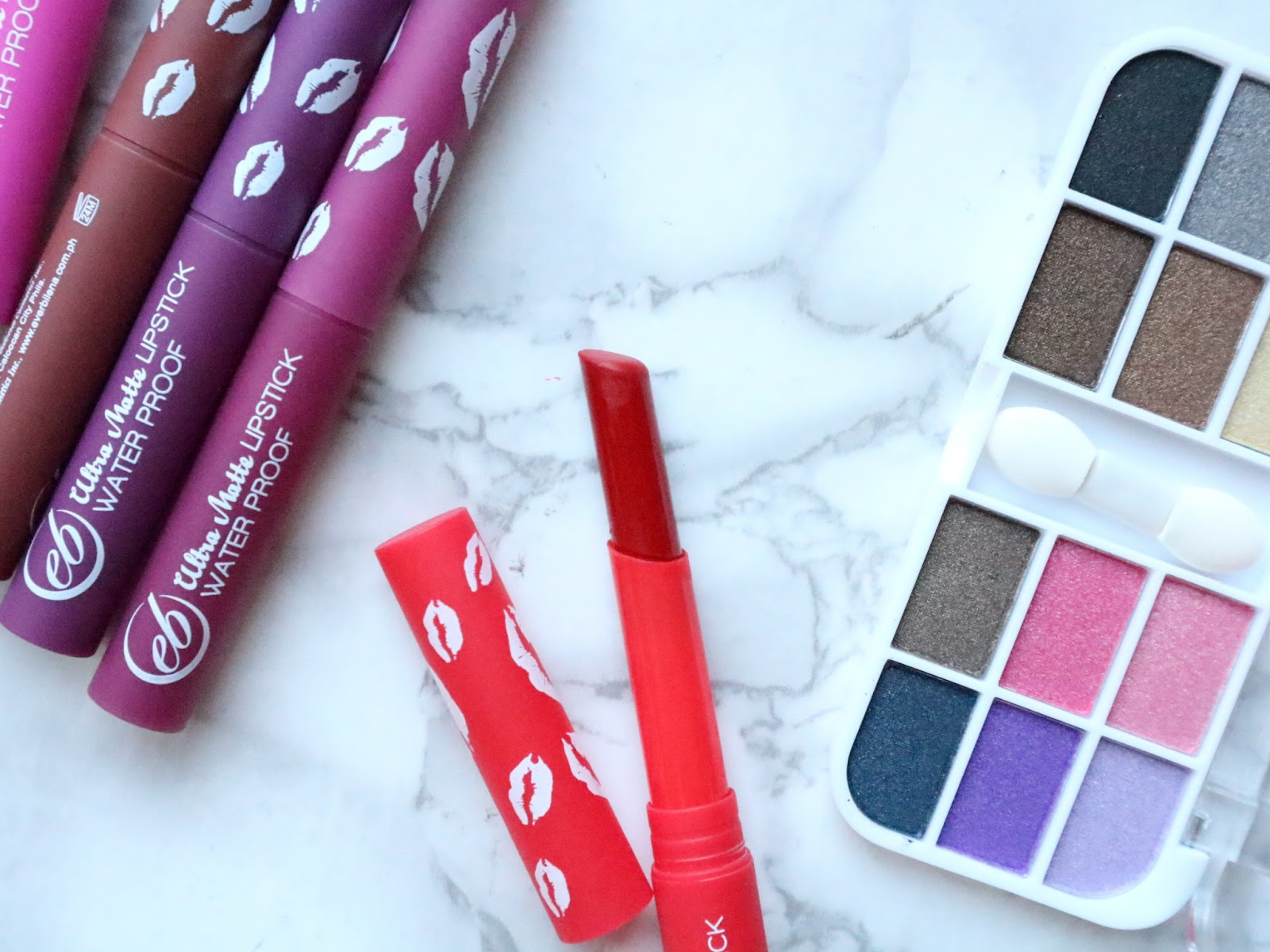 Ever Bilena Matte Lipsticks Collection Review and Swatch