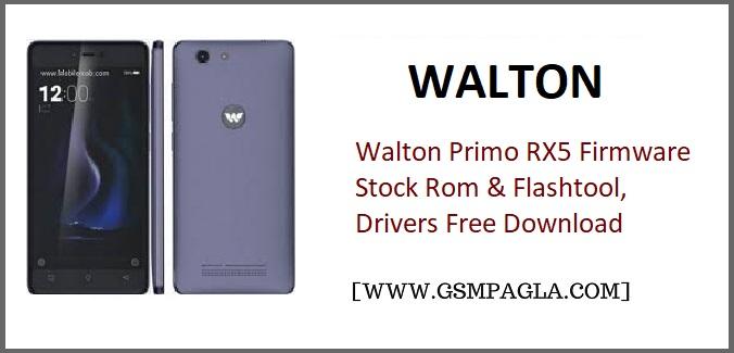 Walton Primo RX5 Firmware Stock Rom gsmpagla