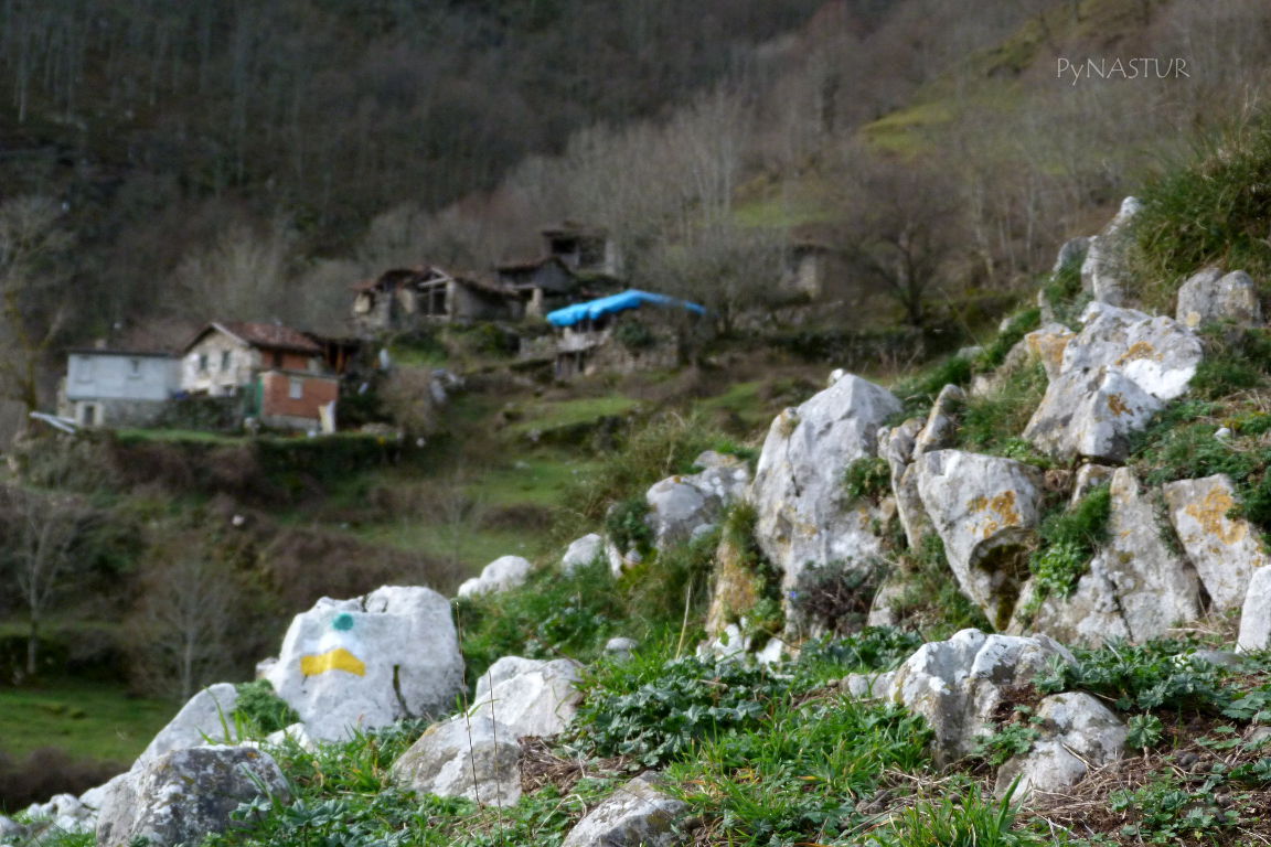 Pueblo de Biamón - Ponga - Asturias