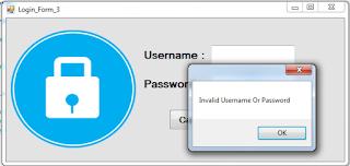 c# login window