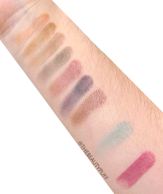 pacifica beauty swatches - the beauty puff
