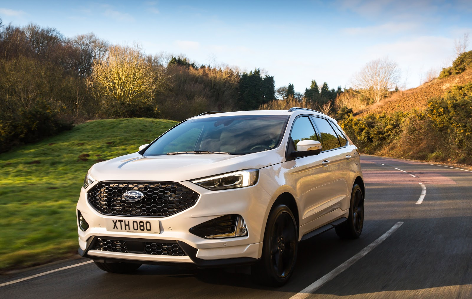 The New Ford Edge Offers A Comprehensive Range Of Camera And Sensor Based Driver Assistance Technologies Designed To Make Journeys More Comfortable And