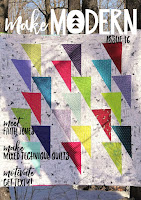 Make Modern Digital Quilting Magazine Issue 16