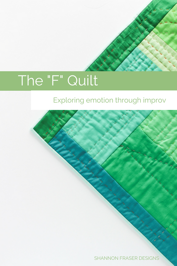 "The ""F"" Quilt is one of the Best of 2018 for Shannon Fraser Designs"
